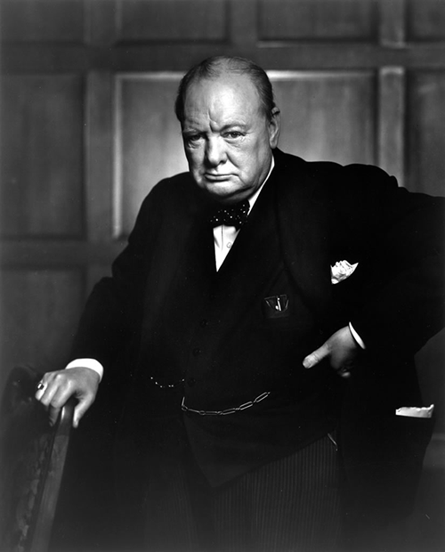 Sir Winston Leonard Spencer-Churchill, KG, OM, CH, TD, PC, FRS (30 November 1874 – 24 January 1965)