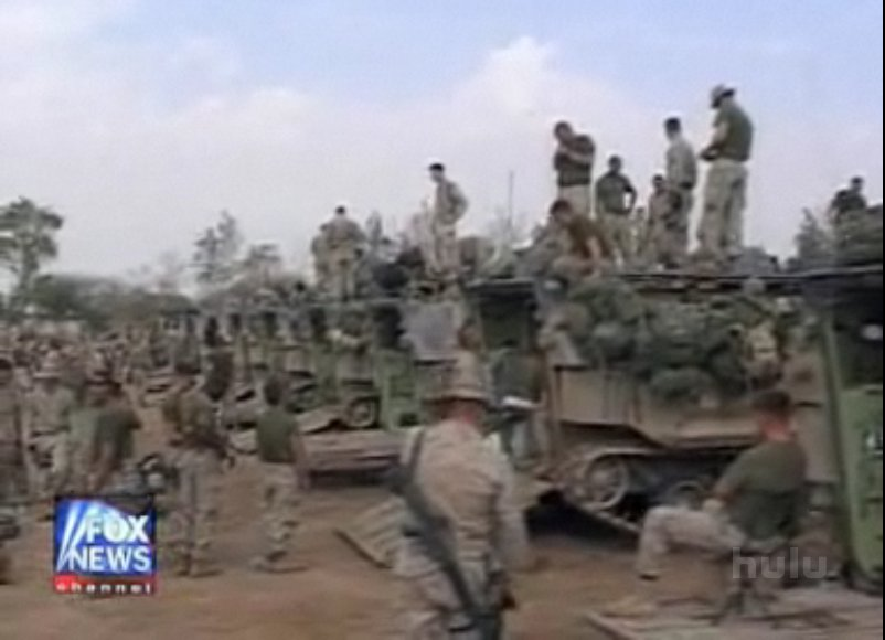 US Marines preparing for strike on Fallujah