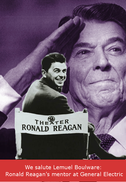 Ronald Reagan, from General Electric Theater to President of the United States