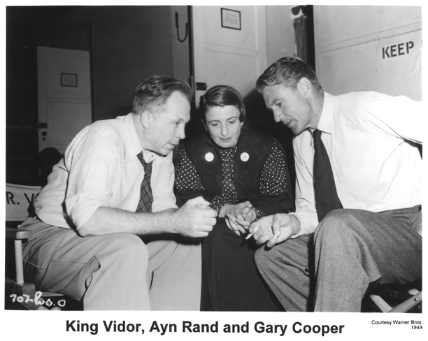 King Vidor, Ayn Rand, Gary Cooper