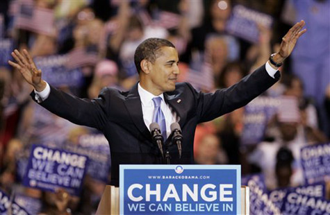 Barack Hussein Obama 2008 election